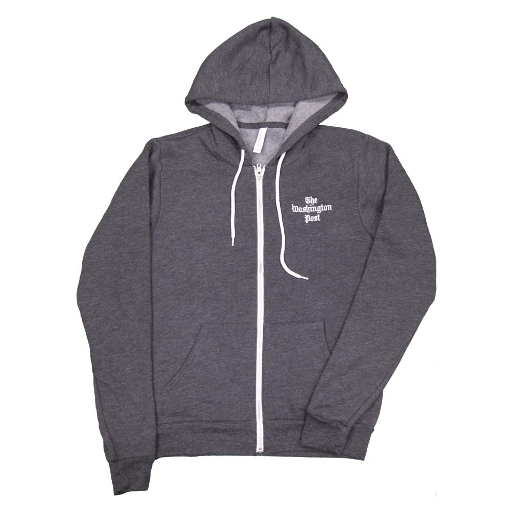 Washington Post hoodie in dark grey
