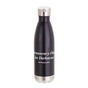 'The Democracy Dies in Darkness' Vacuum Pop Water Bottle