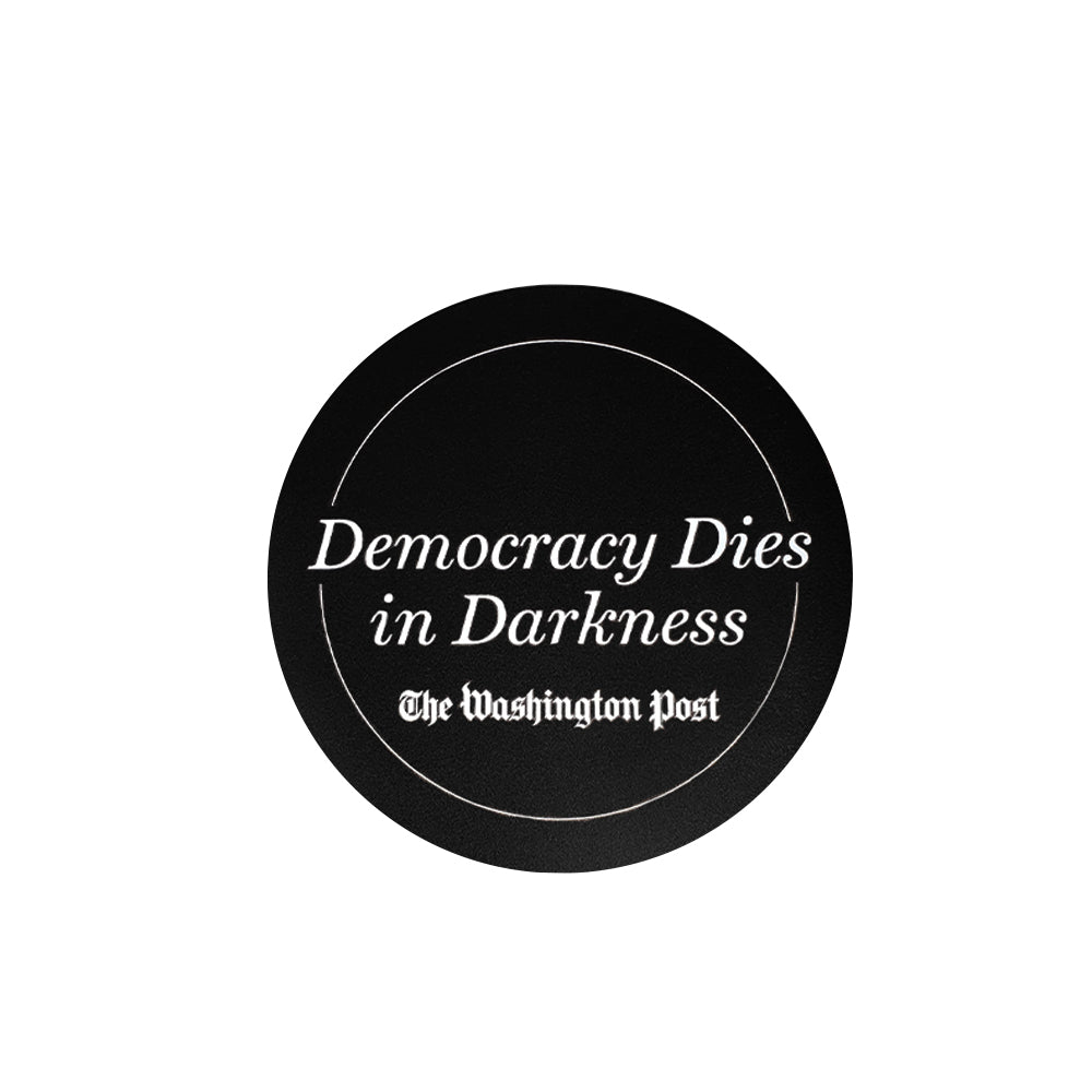 Democracy Dies in the Darkness Car Magnet