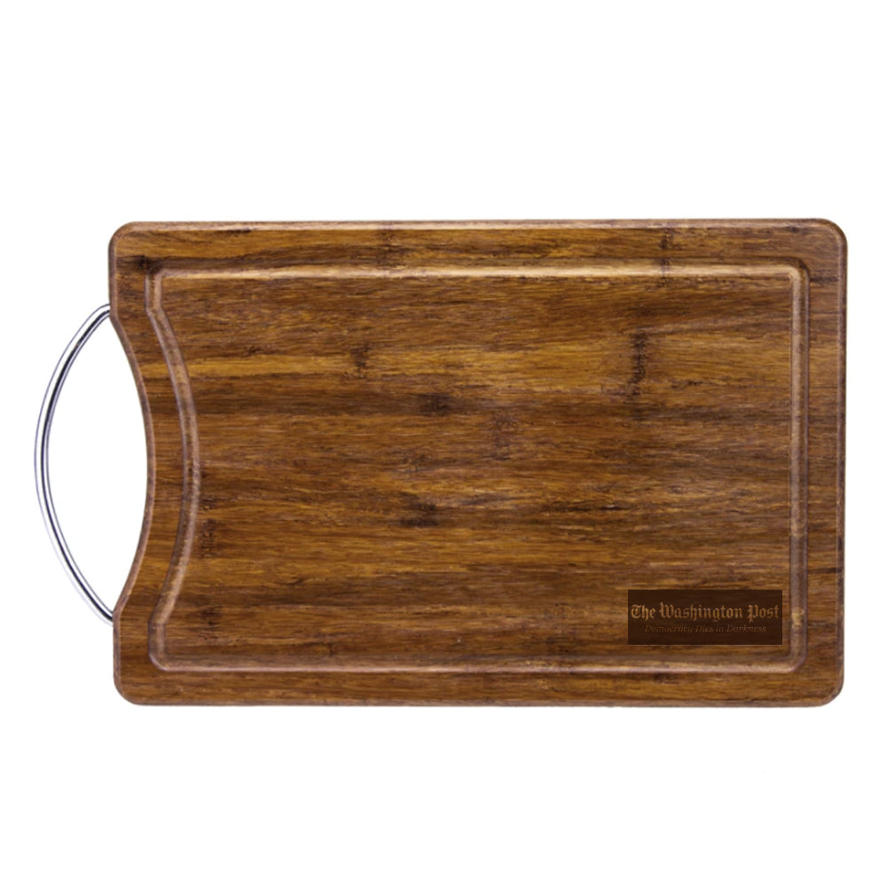 "13"" Crushed Bamboo Cutting & Serving Board"