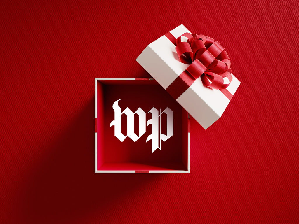 Washington Post electronic gift card to redeem for merchandise