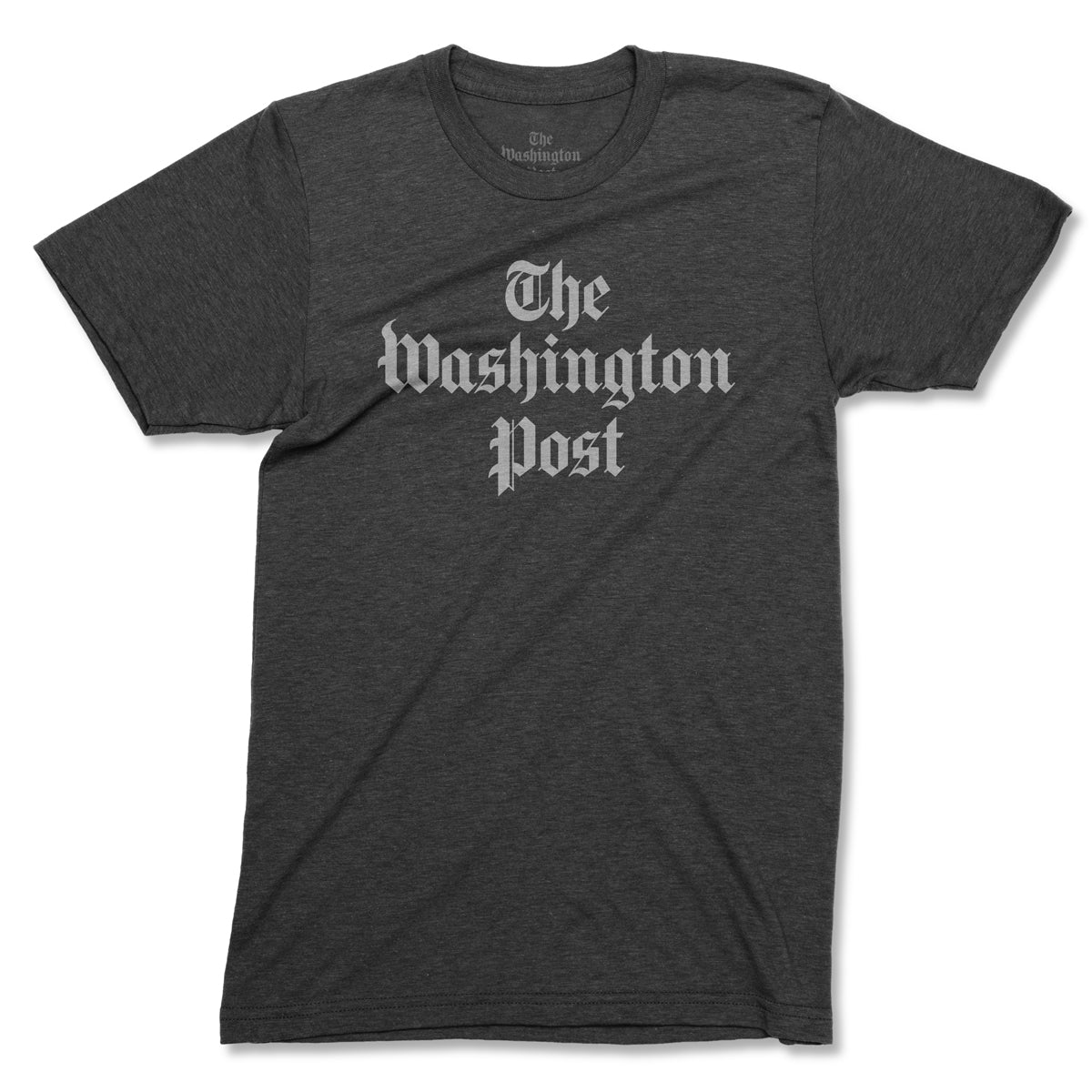 The Washington Post Logo T-shirt in charcoal grey