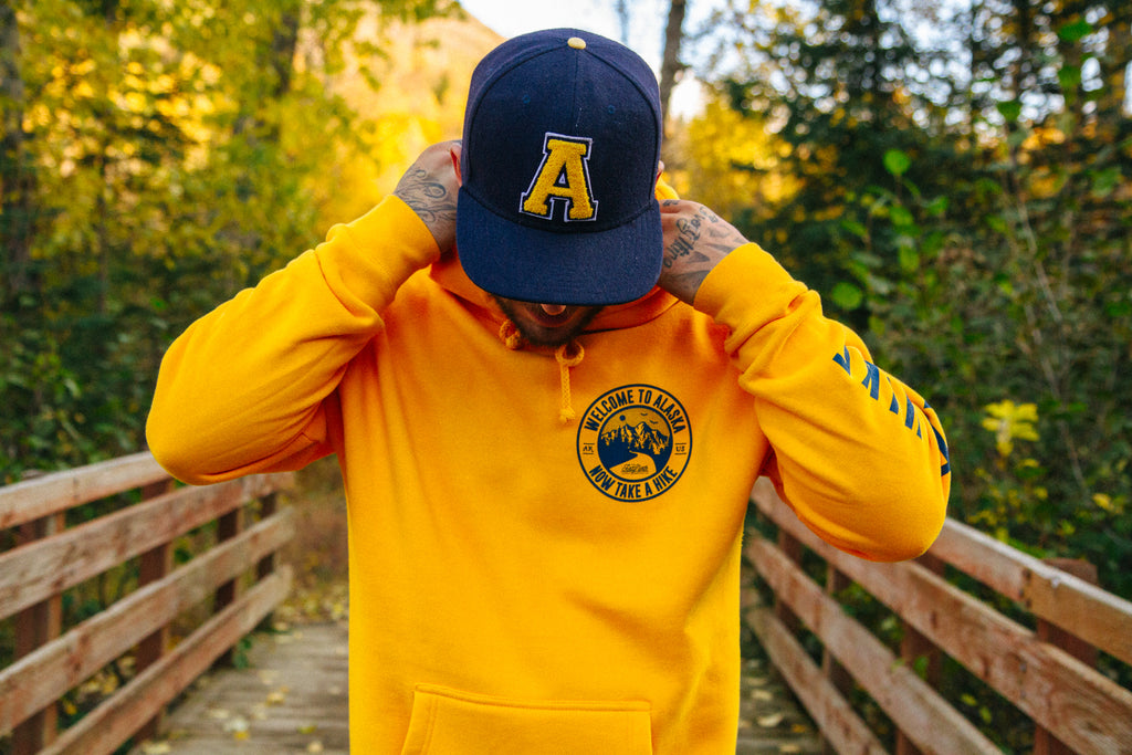 2019 fall collection yellow take a hike front
