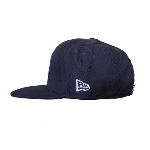 The Igloo Navy Snapback Hat