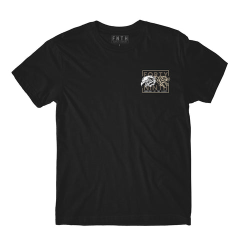 The Heavyweights Black T-Shirt