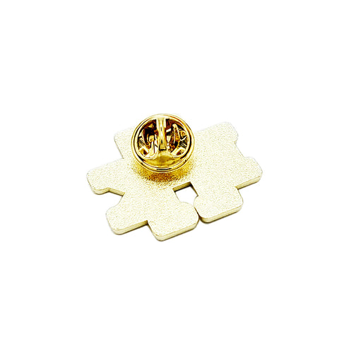 49th Monogram Pin