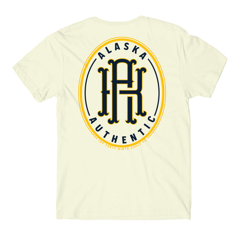 Alaska Authentic Cream T-Shirt