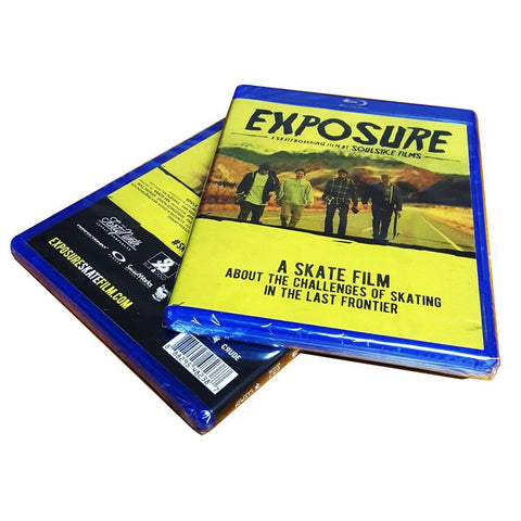 Exposure Skate Film - Blu Ray