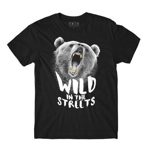 Grizzly Grillz Black T-Shirt
