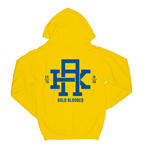 Gold Blooded Yellow Hoodie