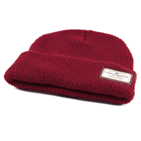 The Huntsman Beanie - Burgundy