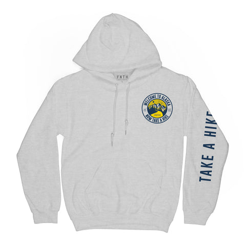 Take A Hike Heather Hoodie