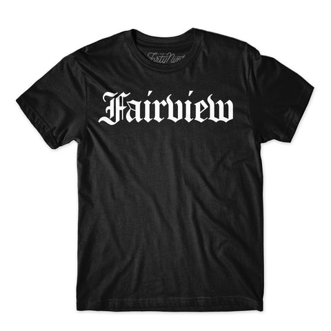 Fairview Tee-Black