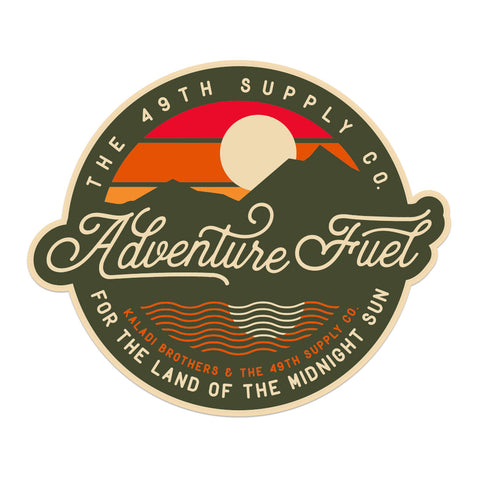 Adventure Fuel Sticker