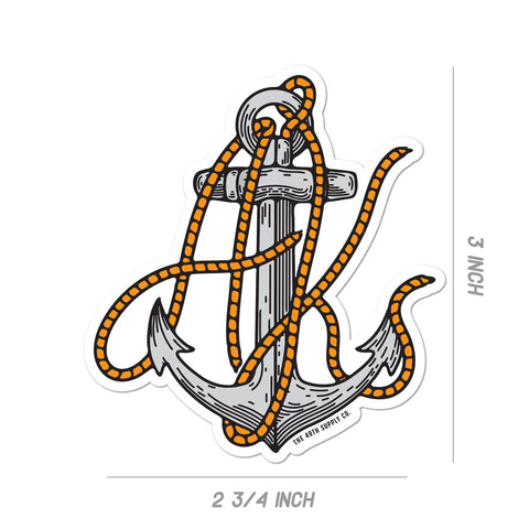 AK Rope Sticker
