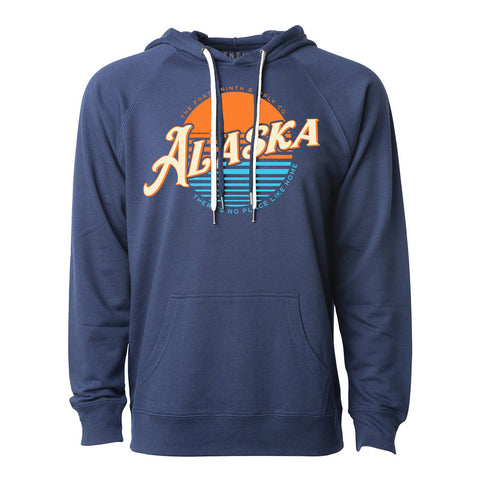 No Place Like Home Blue Hoodie
