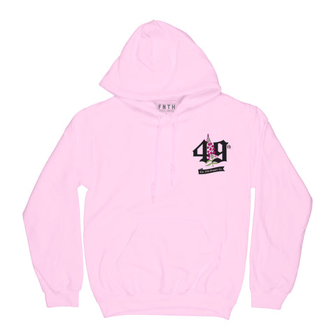 All Good Things Are Wild And Pink Light Pink Hoodie