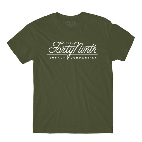 The True Army Green T-Shirt