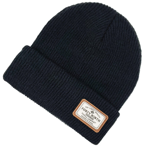 The Huntsman Beanie - Black