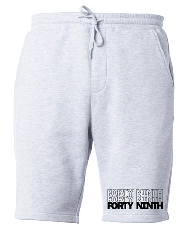 Forty Ninth Heather Grey Shorts