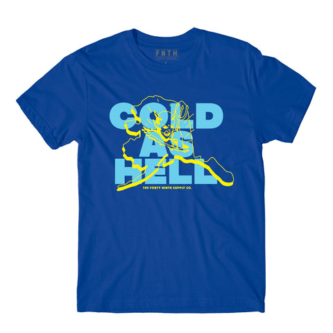 Cold As Hell Blue T-Shirt