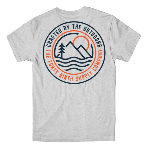 Crafted By The Outdoors Grey T-Shirt