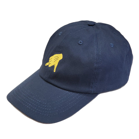 Take A Hike Navy Dad Hat