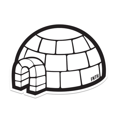 FNTH Igloo Sticker