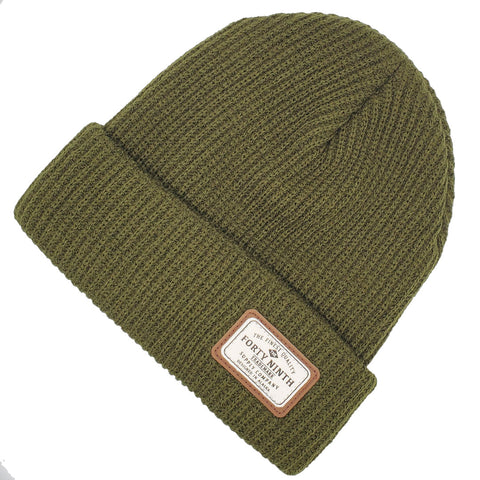 The Huntsman Beanie - Army Green