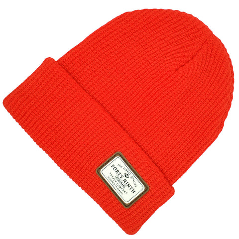 The Huntsman Beanie - Red
