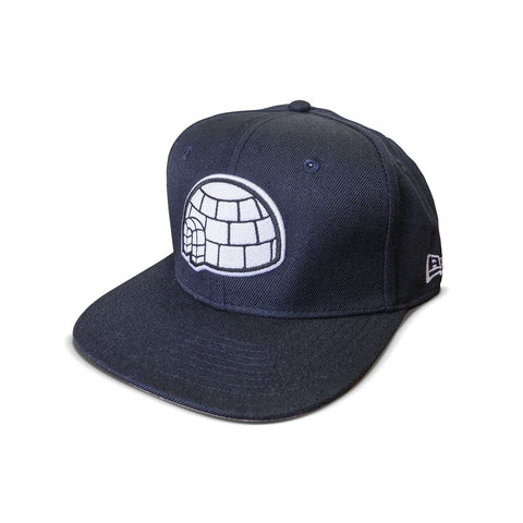 The Igloo Navy Snabback Hat