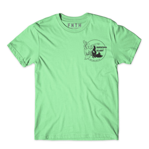 Survival Of The Illest Mint T-Shirt