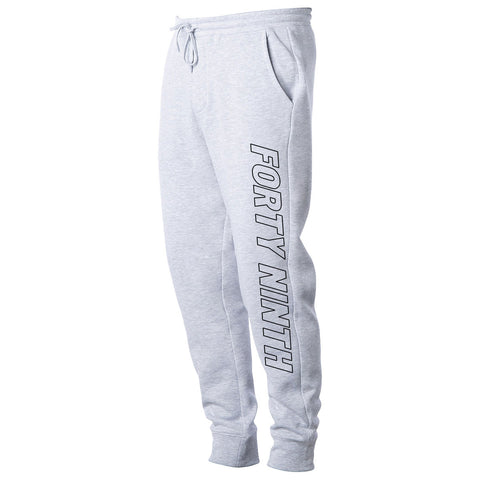 Forty Ninth Laser Grey Jogger