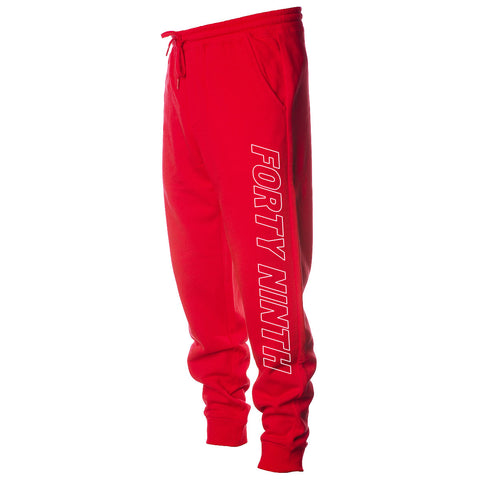 Forty Ninth Laser Red Jogger
