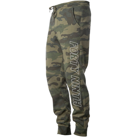 Forty Ninth Laser Green Camo Jogger