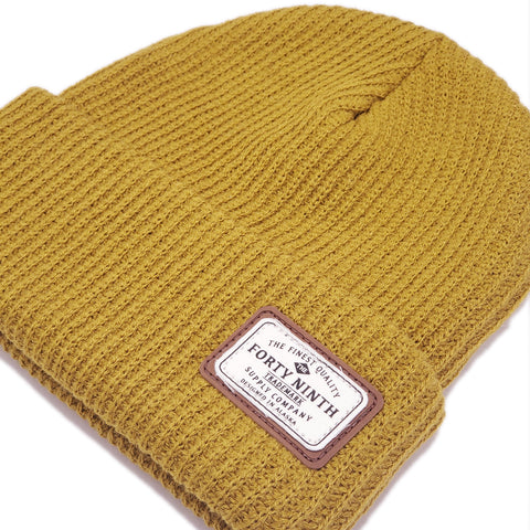 The Huntsman Beanie - Mustard