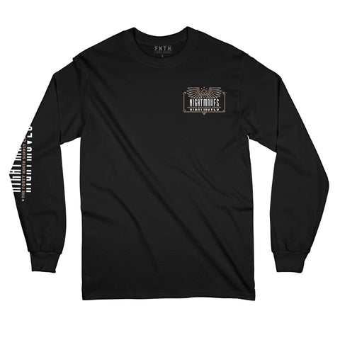 Night Moves Black Long Sleeve T-Shirt