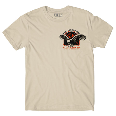 Pray For The Prey Cream T-Shirt