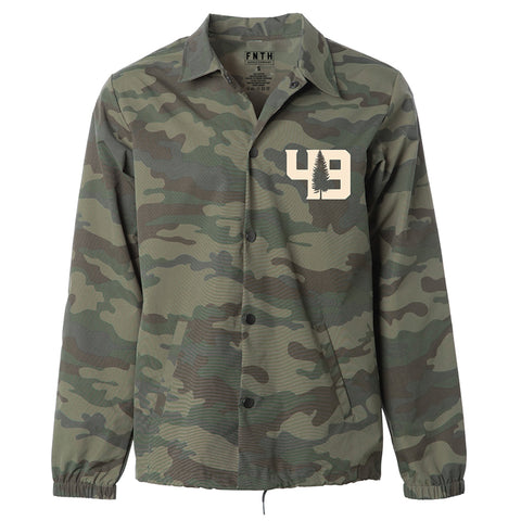 Renegade Camo Coaches Jacket