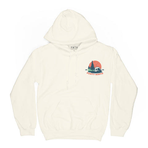 Sunny Place For Shady People Cream Hoodie