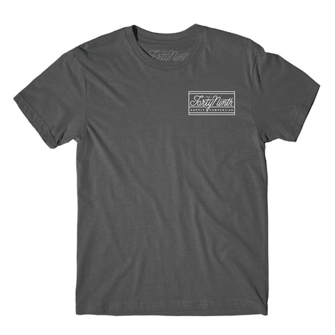 The Standard Premium Charcoal T-Shirt