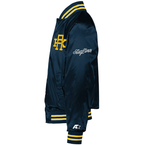 AK Starter Navy Nylon Jacket