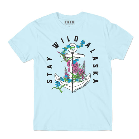 Stay Wild Light Blue T-Shirt