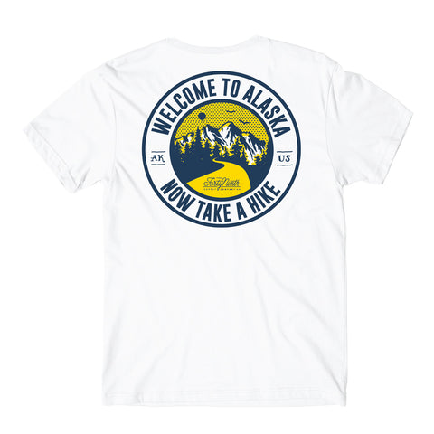 Take A Hike White T-Shirt