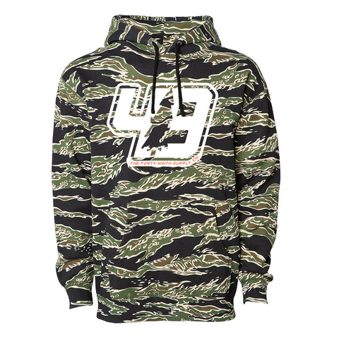 49th Tiger Camo Hoodie