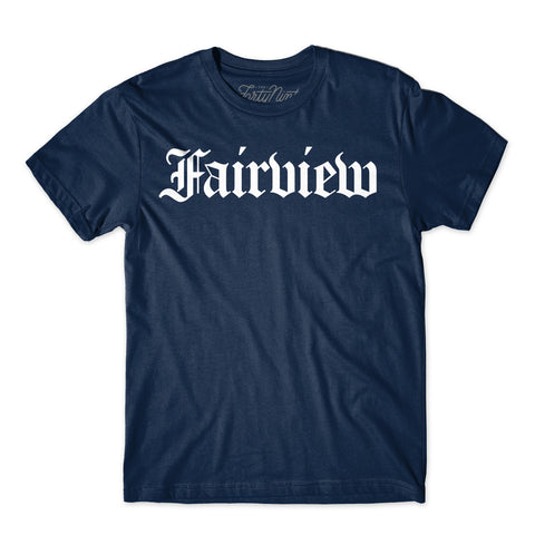 Fairview Tee-Navy
