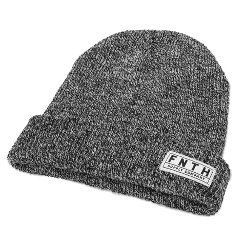 Buckland Beanie - Black/Heather