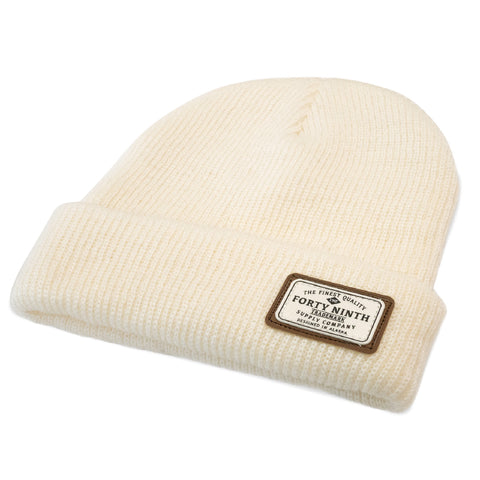 The Huntsman Beanie - Ivory