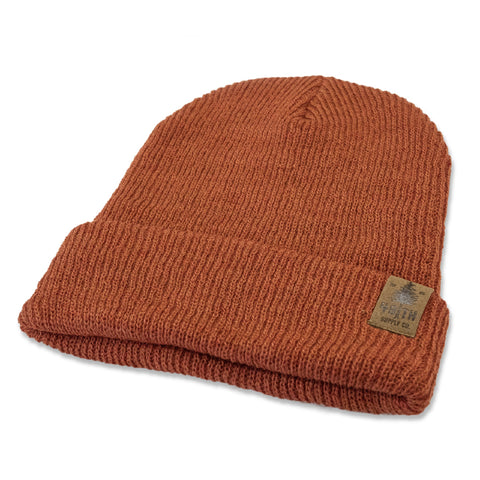 The Mills Beanie - Rust