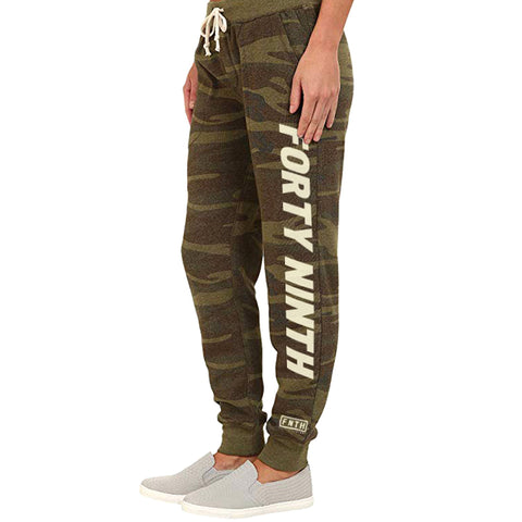 Women's Forty Ninth Camo Fleece Jogger